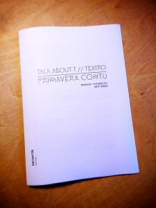 Bäckerei Edizioni Private pubblica i dibattiti di TALK ABOUT T.